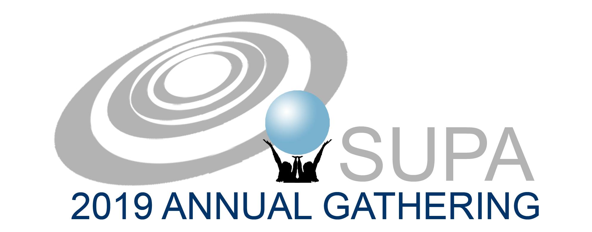 SUPA Annual Gathering 2019 Logo